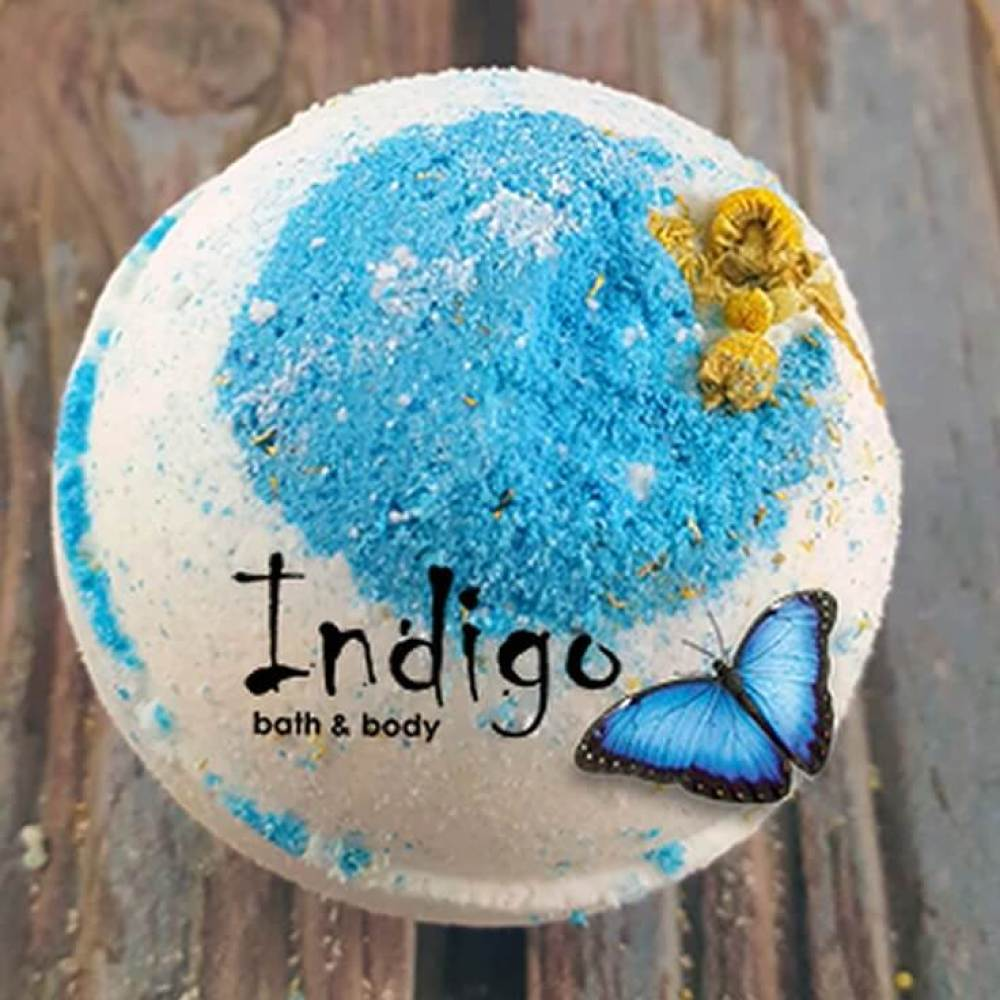 Indigo Stress Relief Bath Bomb