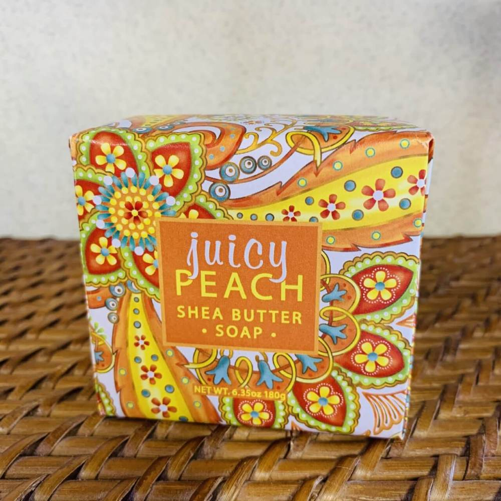 Juicy Peach Shea Butter Soap