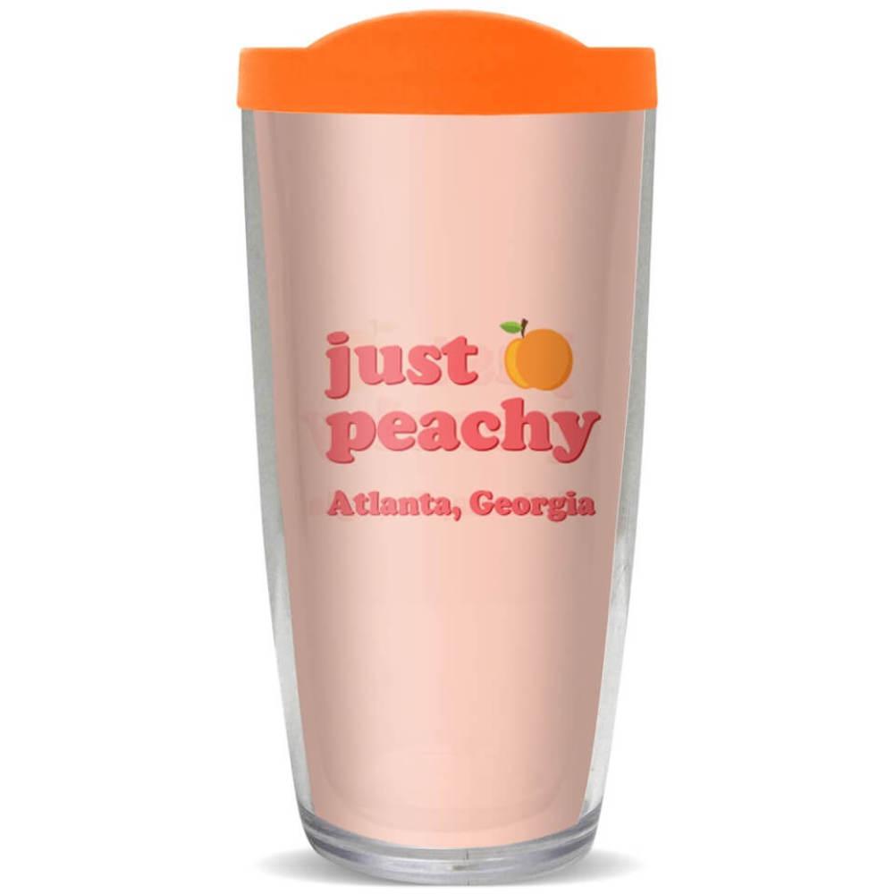 Just Peachy Georgia Tumbler