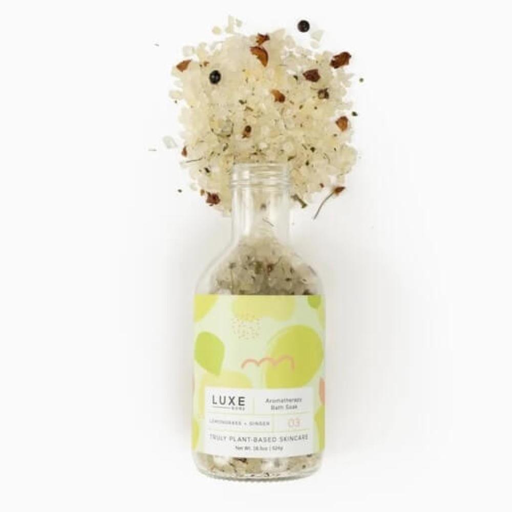 Luxe Lemongrass + Ginger Bath Soak