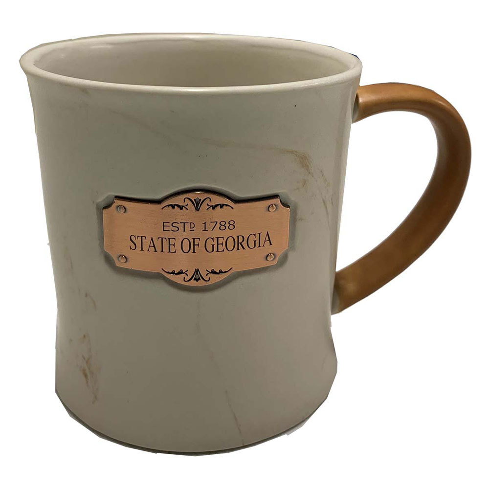 State of Georgia Marble Mug