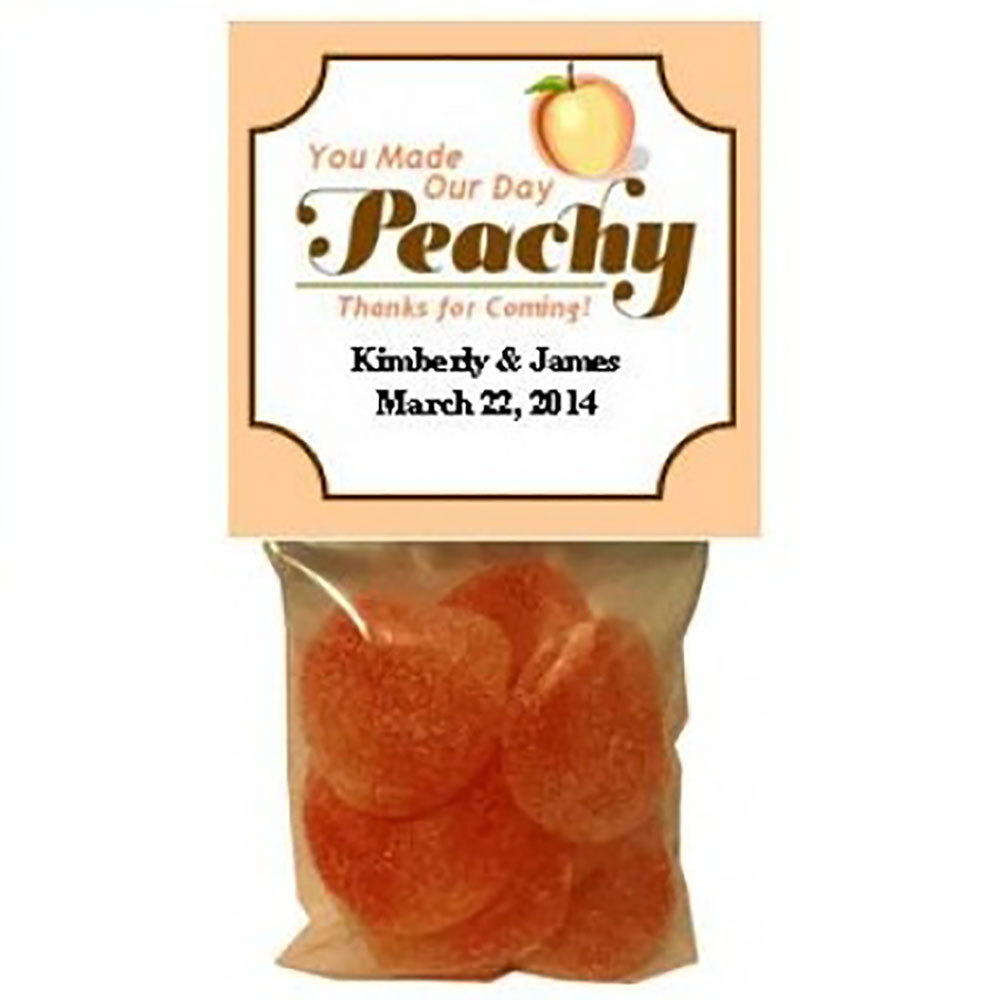 You Made Our Day Peachy Gummi Favors (Set of 8)