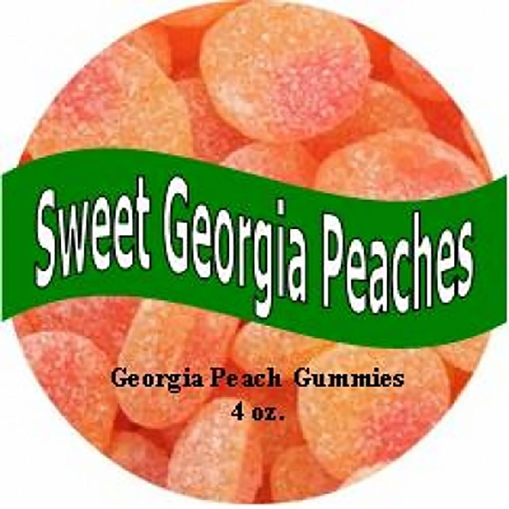Sweet Georgia Peach Gummies Tin