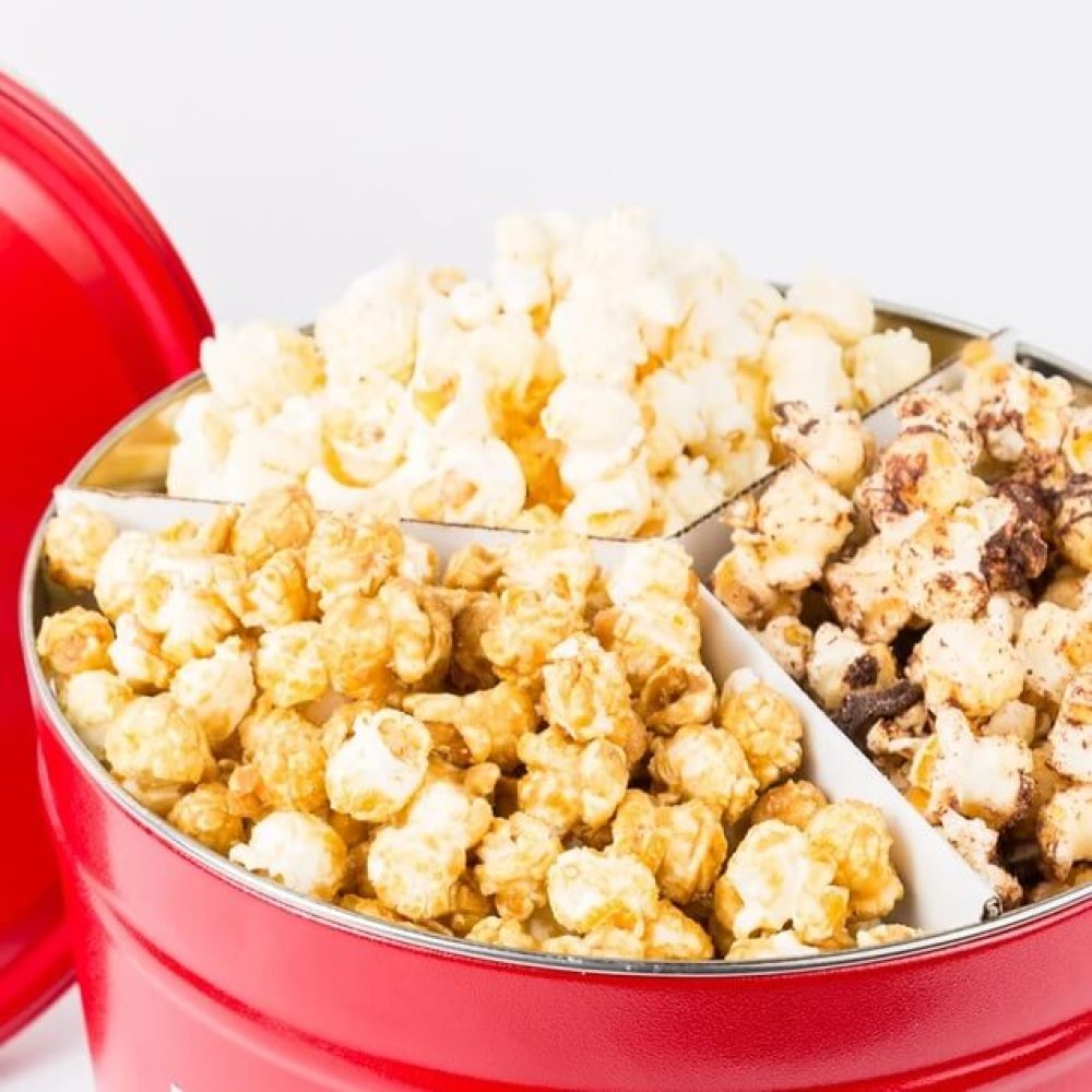 Flavors Of The South Popcorn Tin