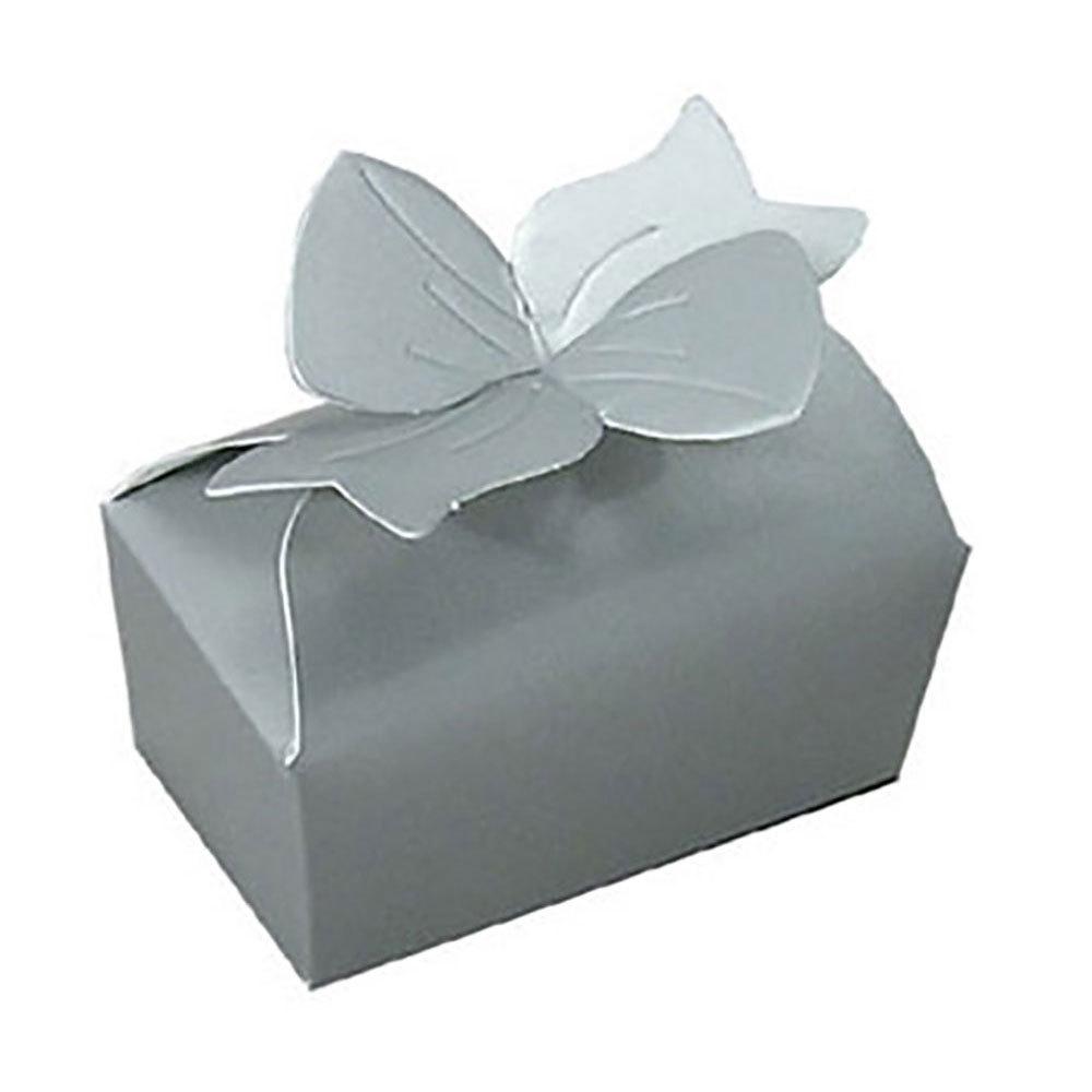 Silver Favor Boxes
