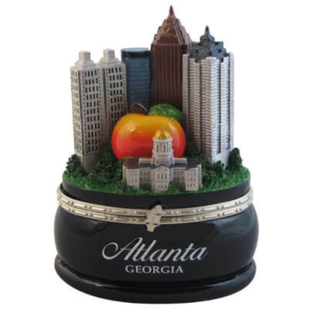 Atlanta Skyline Trinket Box