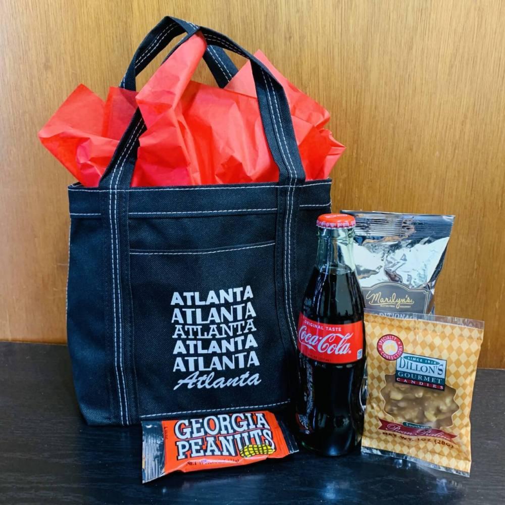 Atlanta Swag Bag Gourmet Gift Tote