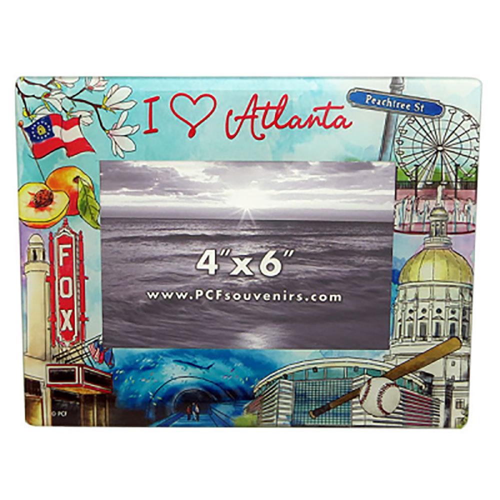 Atlanta Watercolor Frame