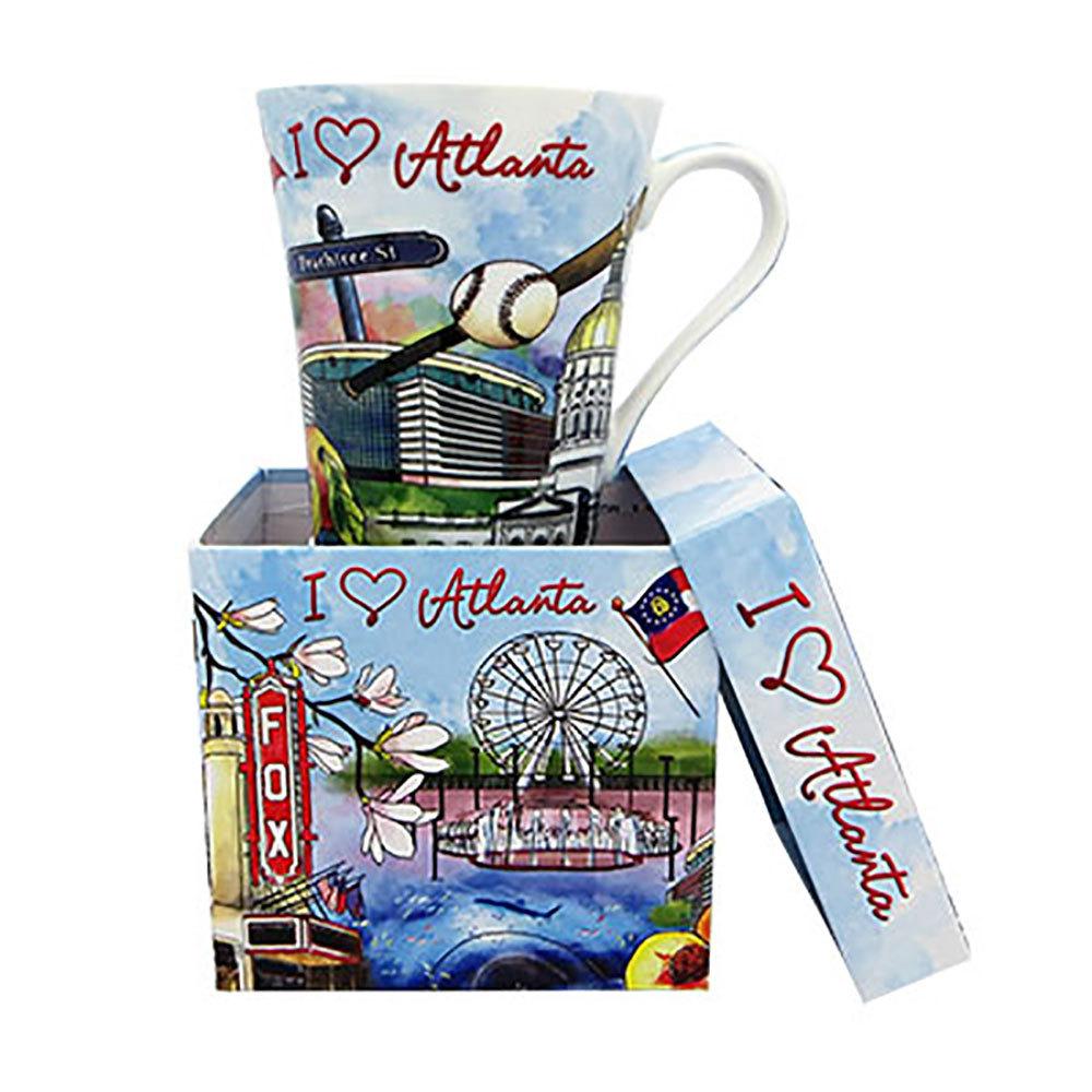 Atlanta Watercolor Mug
