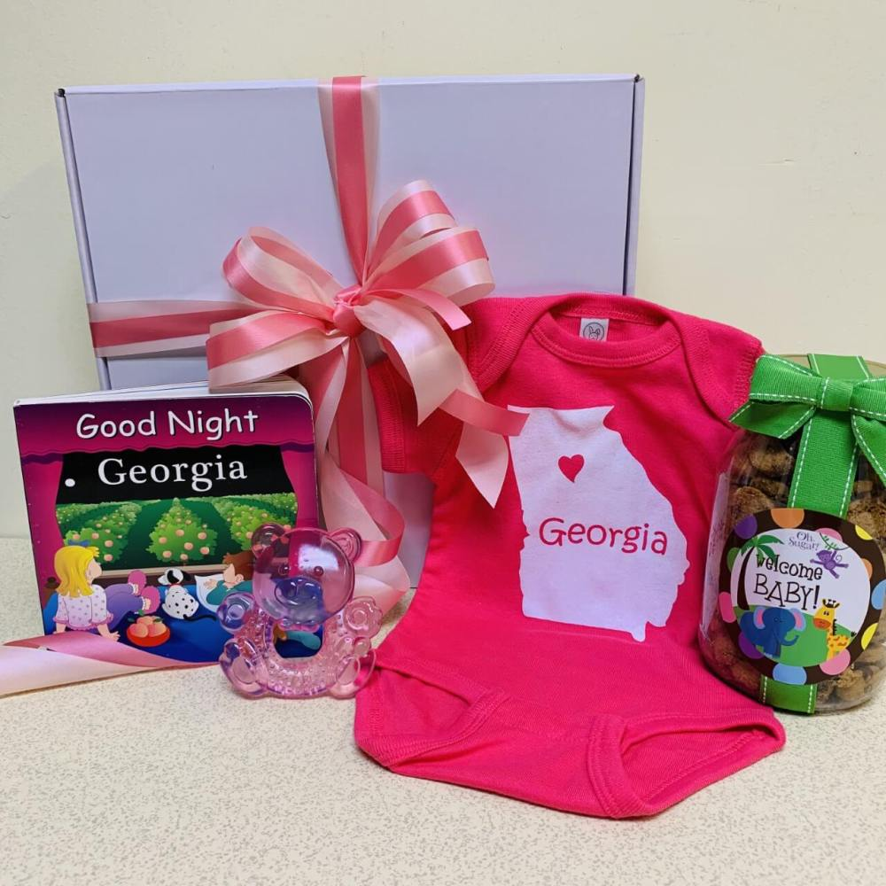 Welcome Georgia Baby Gift Box