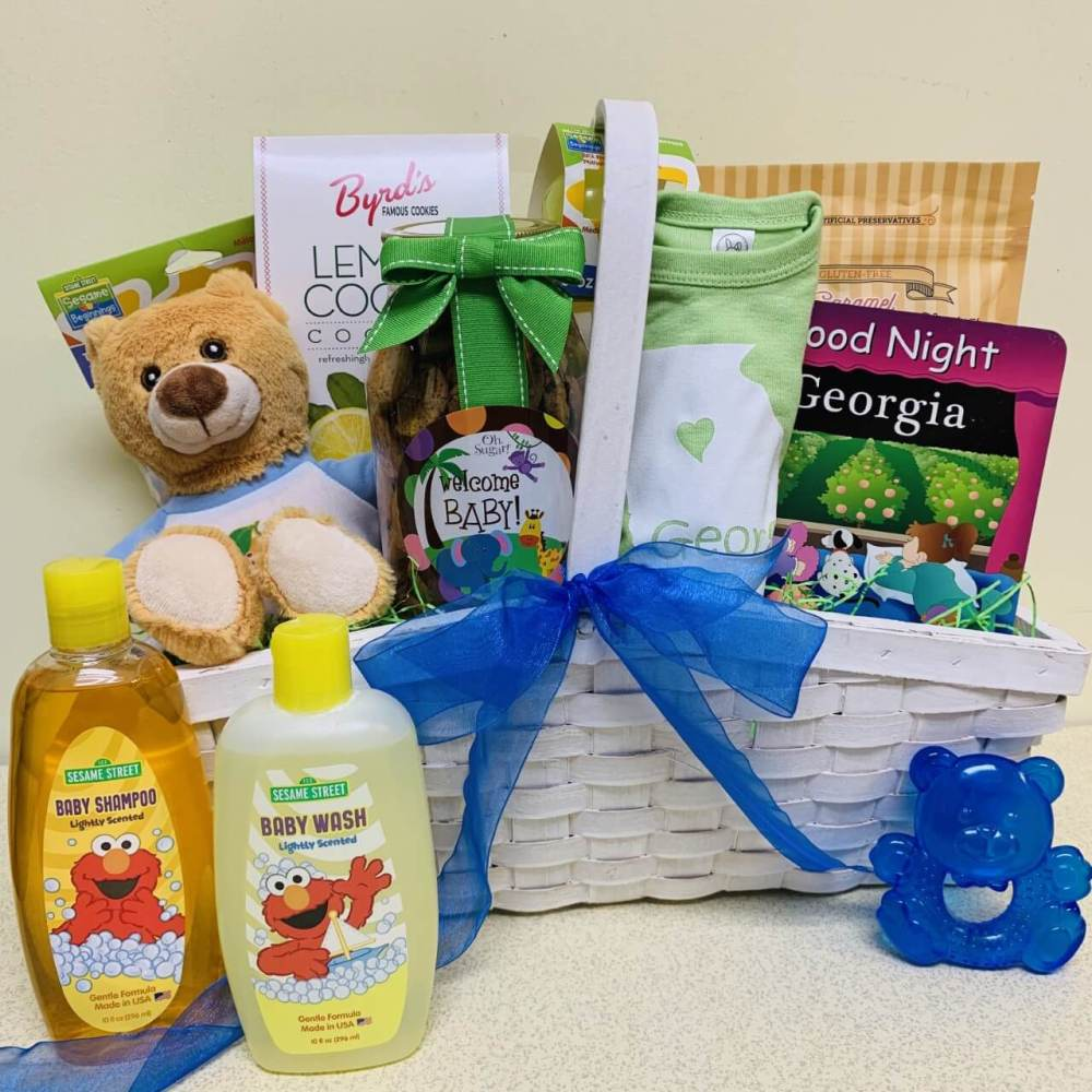 Welcome Little One Baby Basket