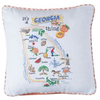 It's A Georgia Thing State Pillow