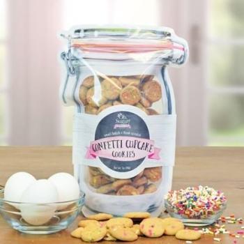 Nam's Confetti Cupcake Cookies