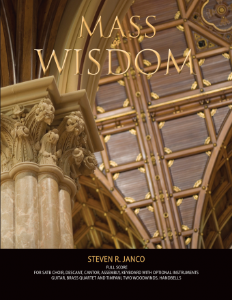 Mass of Wisdom - Full Score