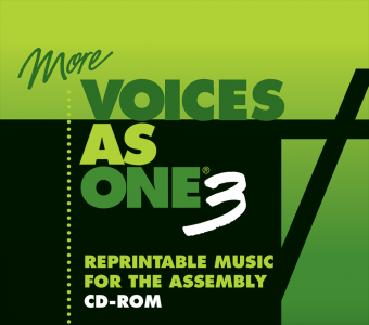 More Voices As One 3 - Reprintable Music for the Assembly - CDROM