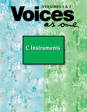 Voices As One Volumes 1 & 2 Instrumental Parts for C Instruments