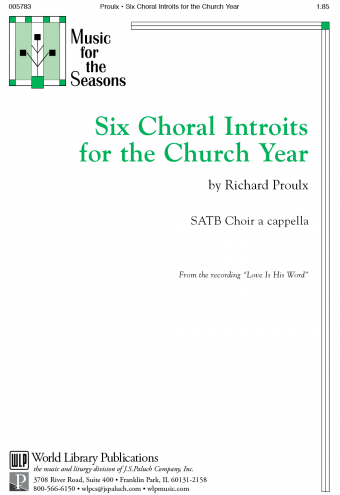 Six Choral Introits For the Church Year