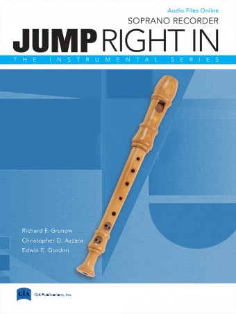 Jump Right In: Recorder Book with MP3