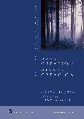 Mass of Creation / Misa de la Creación - Choral / Accompaniment edition