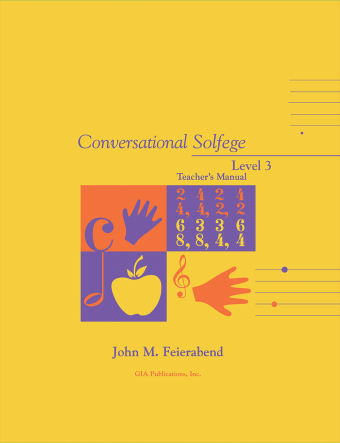 Conversational Solfege, Level 3 - Teacher's edition