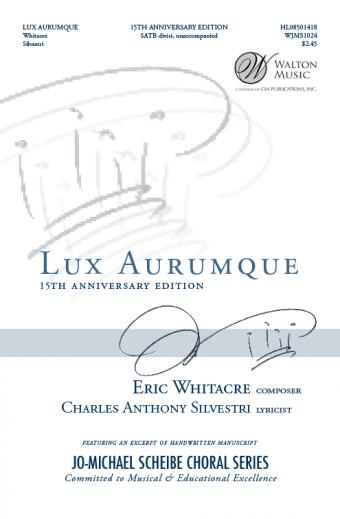 Lux Aurumque (SATB divisi)