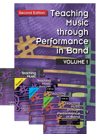 Teaching Music through Performance in Band - Volume 1: Books and CDs Bundle