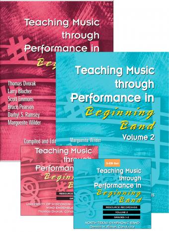 Teaching Music through Performance in Beginning Band Bundle