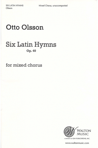 Gia Publications Six Latin Hymns Collection