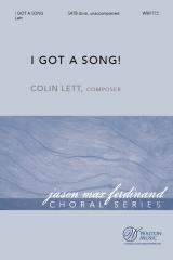 I Got a Song!