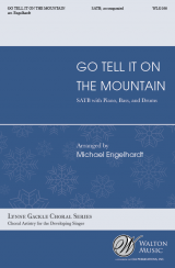 Go Tell It On the Mountain (SATB)