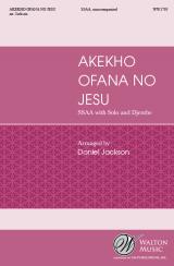 Akekho Ofana No Jesu (SSAA)