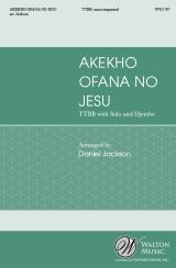 Akekho Ofana No Jesu (TTBB)