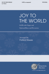 Joy to the World (Vocal Score)