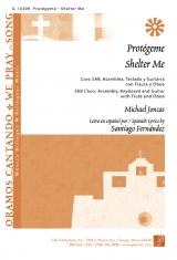 Protégeme / Shelter Me, SAB edition