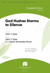God Hushes Storms to Silence
