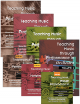 Teaching Music through Performance in Orchestra - Volumes 1–4: Books and CDs Bundle
