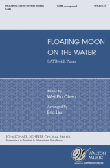 Floating Moon on the Water (SATB)