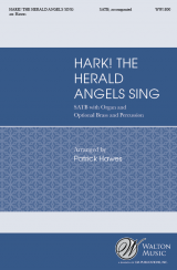 Hark! The Herald Angels Sing (Vocal Score)