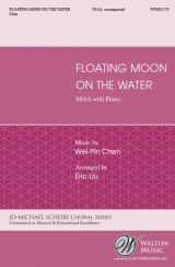 Floating Moon on the Water (SSAA)