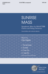 Sunrise Mass (Vocal Score)