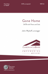 Gone Home (SATB)
