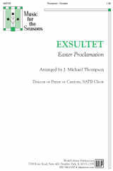 Exsultet-Easter Proclamation