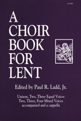 A Choir Book for Lent