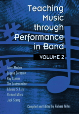 Teaching Music through Performance in Band - Volume 2