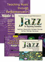 Teaching Music through Performance in Middle School Band: Books and CDs Bundle