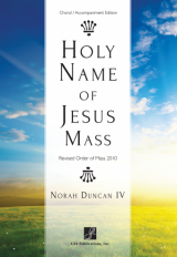 Holy Name of Jesus Mass - Choral / Accompaniment edition
