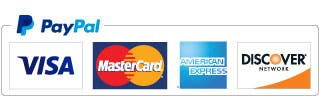 paypal logo with credit cards
