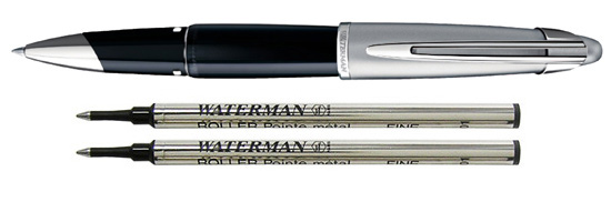 Waterman Edson Diamond Black   Rollerball Pen
