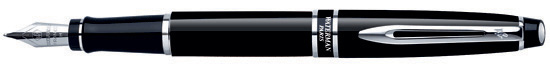Waterman Expert Black CT Fine Point Fountain Pen