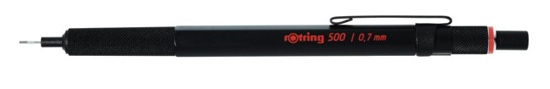 Rotring 500 Series Black .7mm Pencil